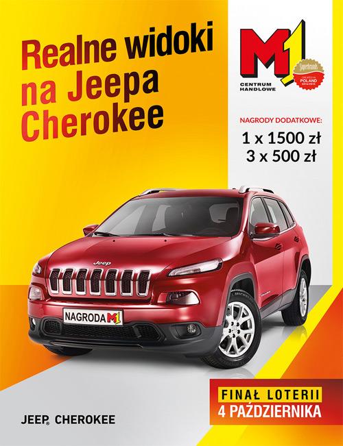 Realne widoki na Jeepa Cherokee – loteria w M1