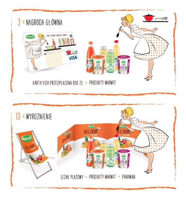 Twój zdrowy lunchbox z Marwit – wygraj kartę VISA