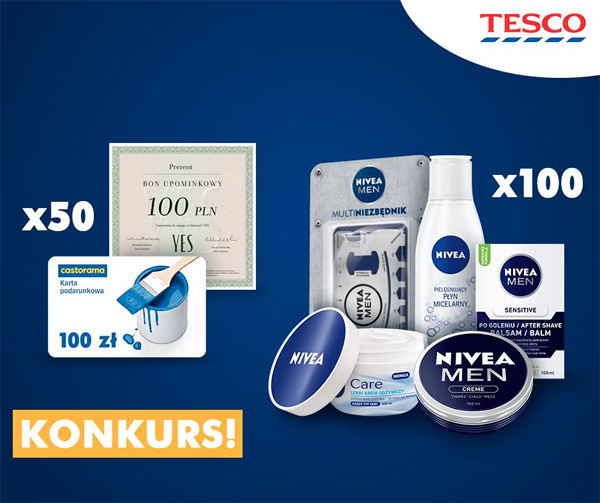 Konkurs NIVEA MEN w Tesco
