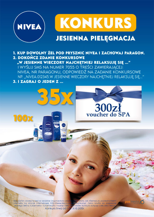 Wygraj voucher do SPA od NIVEA