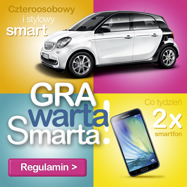 Gra warta Smarta w sklepach Aldik