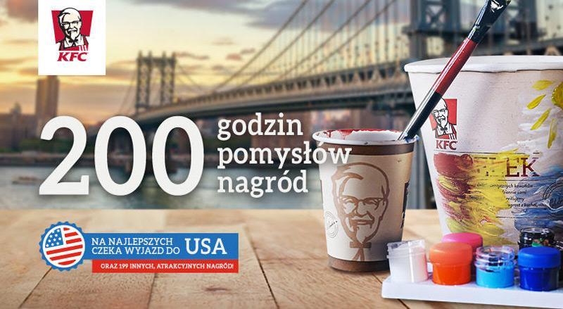 Wygraj wyjazd do USA w konkursie KFC