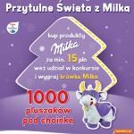 Przytulne święta z Milką – wygraj pluszową krówkę