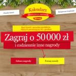 Kalendarz świątecznych inspiracji Winiary – wygraj 50 000 zł