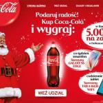 Świąteczna loteria Coca-Cola w Delikatesach Centrum