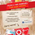 Znajdź swojego SAMSMAKa – konkurs w Żabce