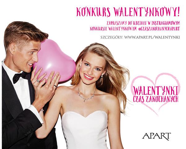 Walentynkowy konkurs APART – wygraj bon jubilerski
