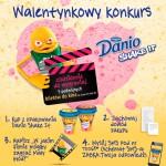 Walentynkowy konkurs Danio Shake It w Żabce