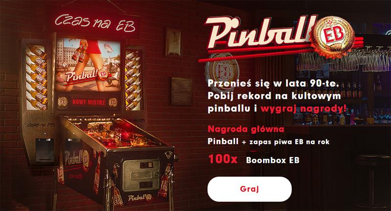 Wygraj Pinball EB i roczny zapas piwa