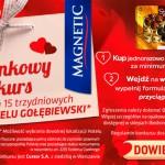 Walentynkowy konkurs Magnetic w Biedronce