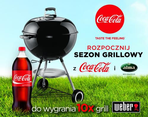 Konkurs Coca-Cola w Alma – wygraj grill Weber