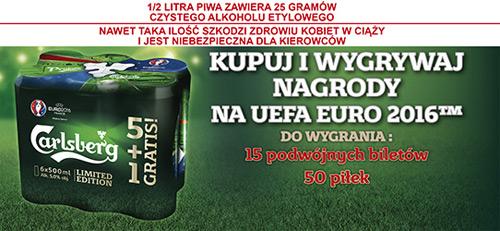 Konkurs Carlsberg w Kauflandzie – wygraj bilety na Euro 2016