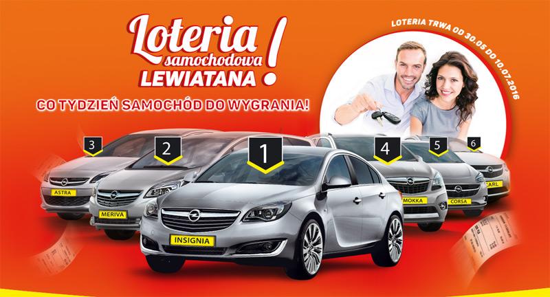 Loteria samochodowa Lewiatana – wygraj Opla