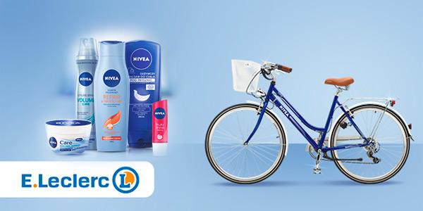 Konkurs NIVEA w E.Leclerc – wygraj rower ROMET