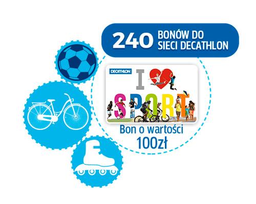 Konkurs Centrum – wygraj bon Decathlon
