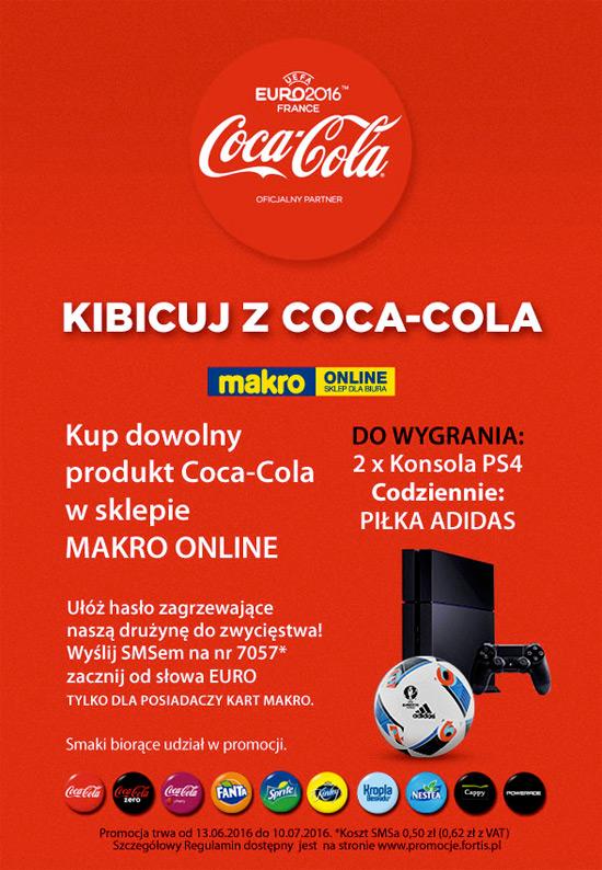 Konkurs Coca-Cola w Makro