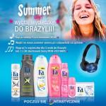 Poczuj się Fa-ntastycznie latem – wygraj wycieczkę do Brazylii