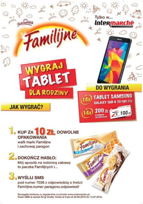 Konkurs Wafle Familijne w Intermarche