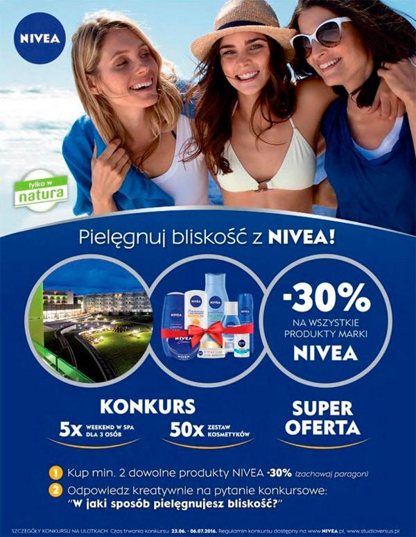 Konkurs NIVEA w Drogeriach Natura