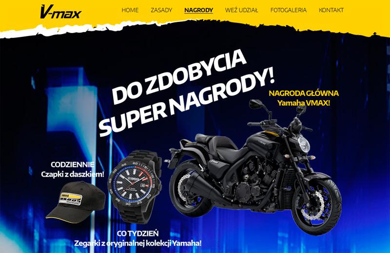 Konkurs Moc od V-Max – wygraj motor Yamaha