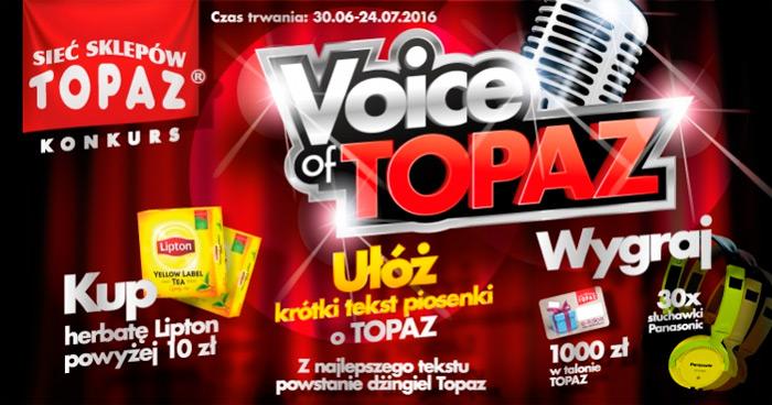 Konkurs Voice of TOPAZ