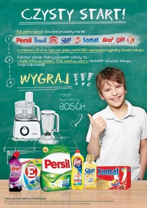 Konkurs Czysty Start Henkel