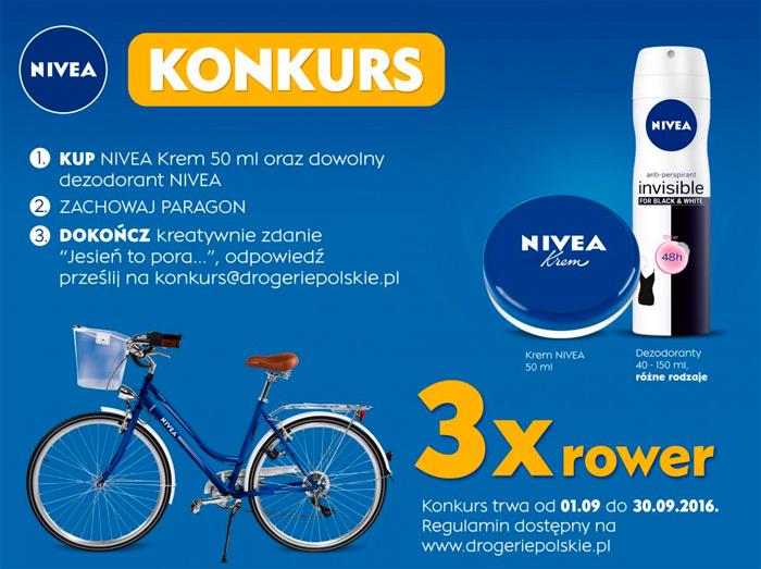 Konkurs NIVEA w sieci Drogerie Polskie