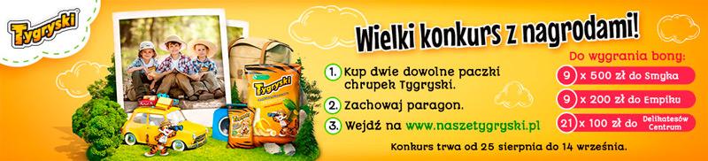 Konkurs Tygryski w Delikatesach Centrum