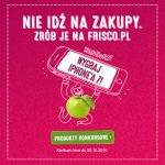 Wygraj iPhone 7 – konkurs Frisco