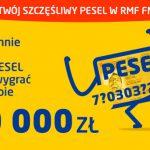 Konkurs PESEL w RMF FM – wygraj 10 000 zł