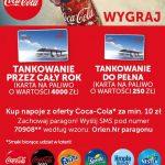 Loteria Coca-Cola na Orlen – wygraj rok tankowania