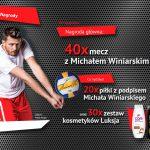 Konkurs Luksja – wygraj mecz z Michałem Winiarskim