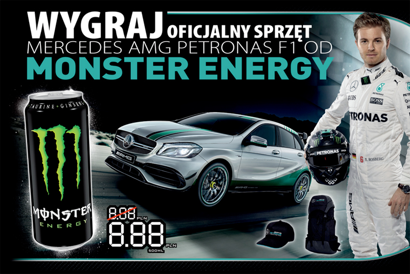 Konkurs Monster Energy na stacjach BP