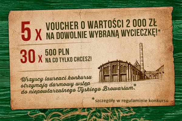Konkurs Tyskie w sklepach Żabka i Freshmarket