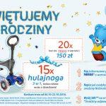 Konkurs Nestle – Urodziny Niebieskiego Misia w Tesco