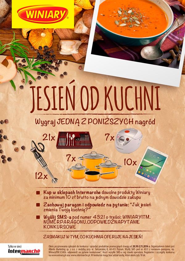 Konkurs Winiary w Intermarche – Jesień od kuchni