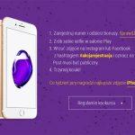 Konkurs Akcja rejestracja Play – wygraj iPhone 7