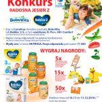Konkurs Radosna jesień z BoboVita w Carrefour