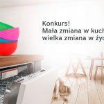 Konkurs Bosch – wygraj zwrot kosztów zakupu zmywarki