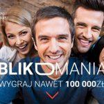 Loteria Blikomania – nagrody za płatności BLIK