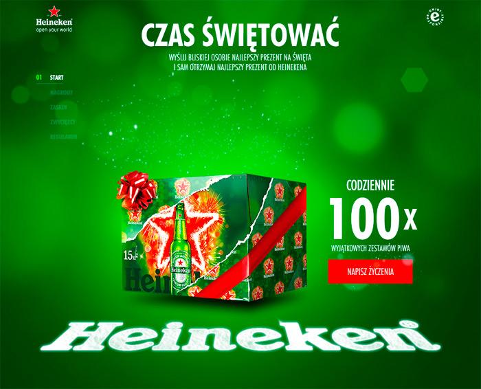 Konkurs Heineken – czas świętować