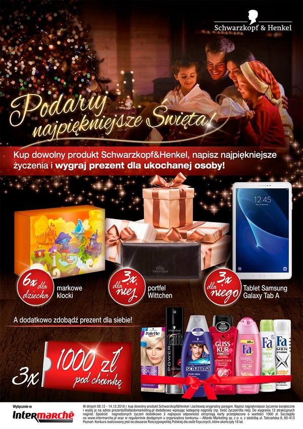 Konkurs Schwarzkopf & Henkel – Podaruj najpiękniejsze święta