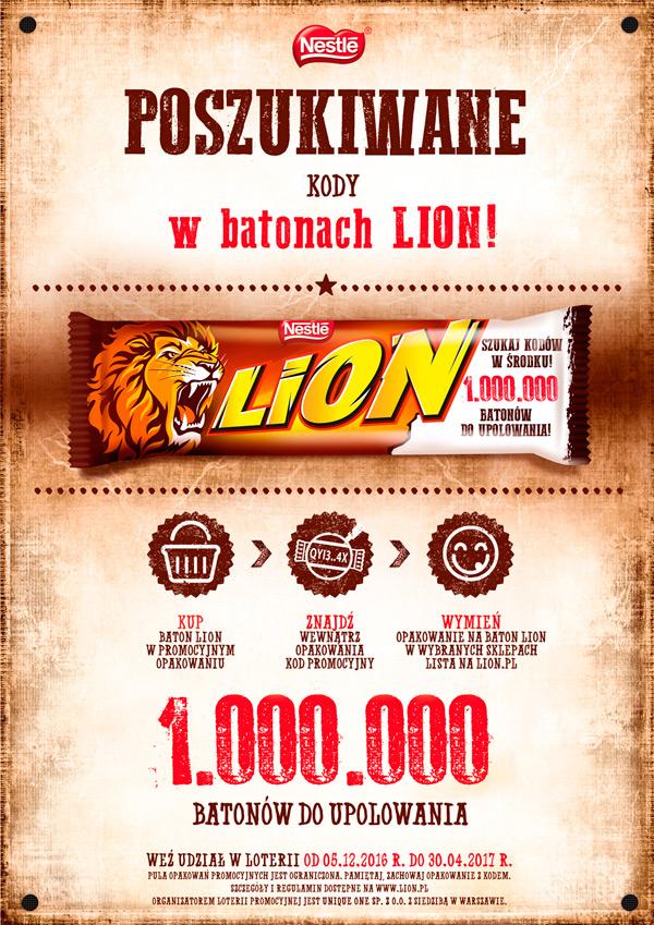 Promocja Lion – Żabka i Freshmarket