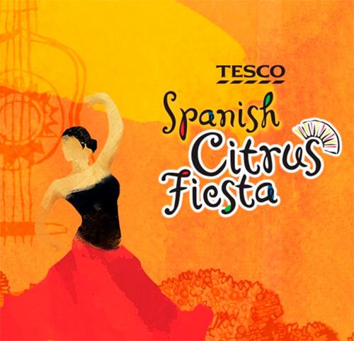 Konkurs Fiesta cytrusów w Tesco
