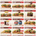 Kupony rabatowe Burger King 2017