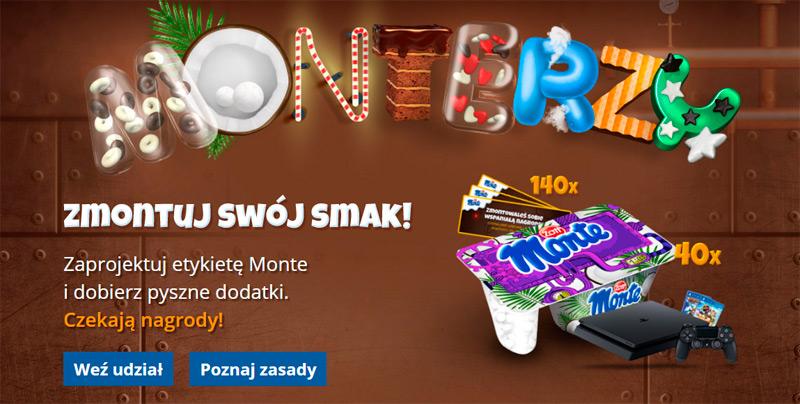 Konkurs MONTErzy – zaprojektuj opakowanie Monte