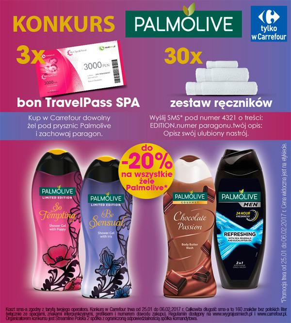 Konkurs Palmolive w Carrefour