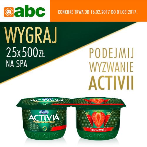 Konkurs Activia w sklepach ABC