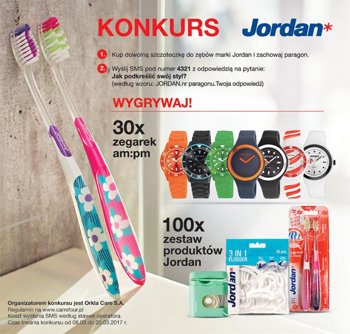 Konkurs Jordan w Carrefour