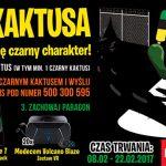 Konkurs Upoluj czarnego Kaktusa w sklepach Żabka i Freshmarket